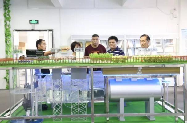 江苏交通控股集团领导考察力鼎环保