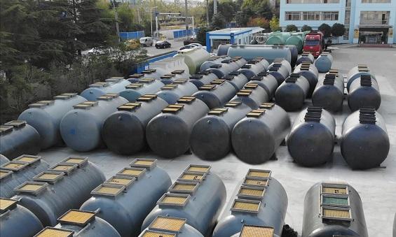 常熟农村污水处理设备生产基地航拍