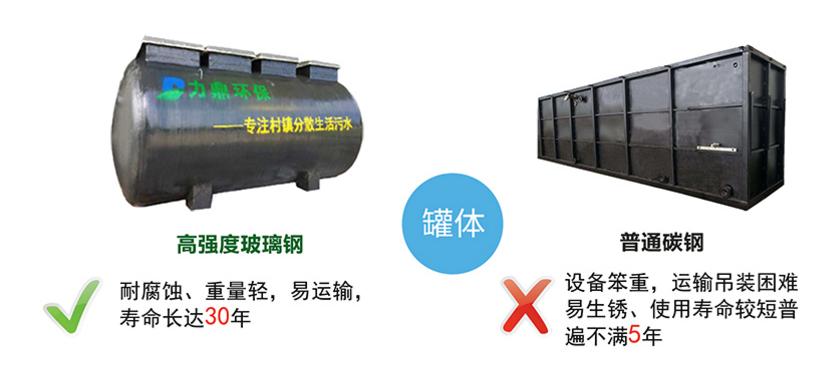 地埋式污水处理设备材质介绍