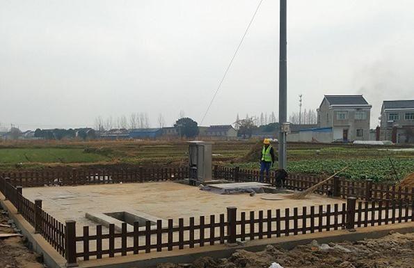 「农村污水处理设备案例」南京六合马鞍街道25吨村镇污水处理工程