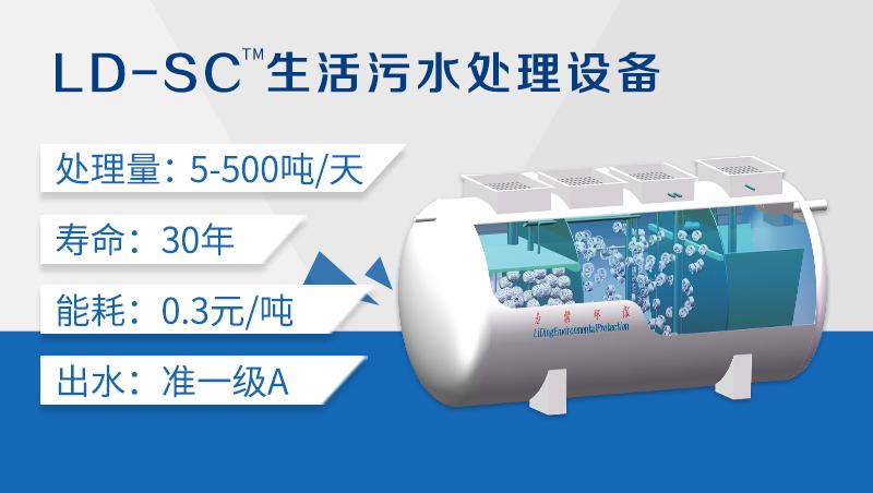 LD-SC一体化农村污水处理设备