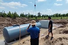 盐城响水100吨农村污水处理设施案例