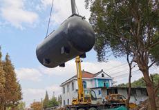 千灯古镇农村污水处理设备安装完成